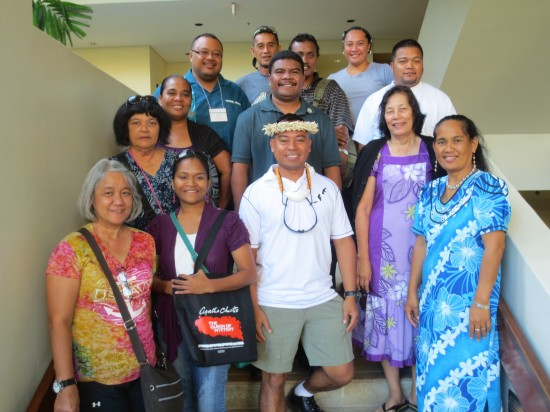Pacific workshop participants.