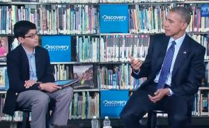 President Obama at the Anacostia Library announcement