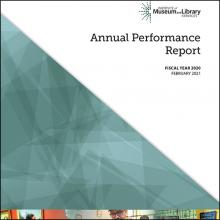 2020 Annual Performance Report Cover