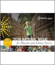 Cover of 2016 National Medal for Museum and Library Services brochure