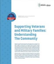 Cover of Supporting Veterans and Military Families: Understanding the Community