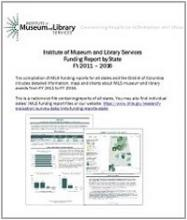 Cover of IMLS Funding Report by State - All States